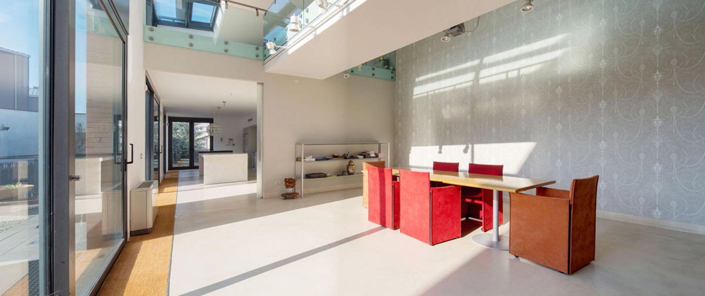 Lussuosa villa moderna - via Privata Porretta, Milano ...