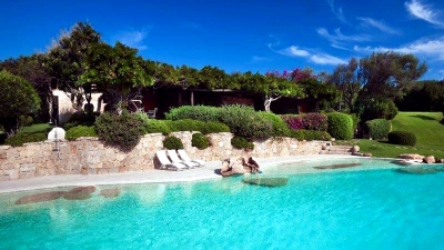 eafront villa in Sardinia, Porto Cervo